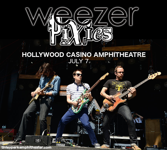 Weezer, Pixies & The Wombats at Austin360 Amphitheater
