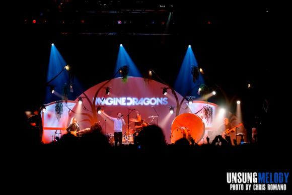 Imagine Dragons at Austin360 Amphitheater