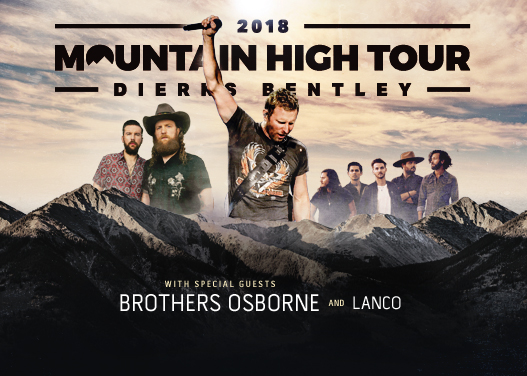 Dierks Bentley, Brothers Osborne & LANCO at Austin360 Amphitheater