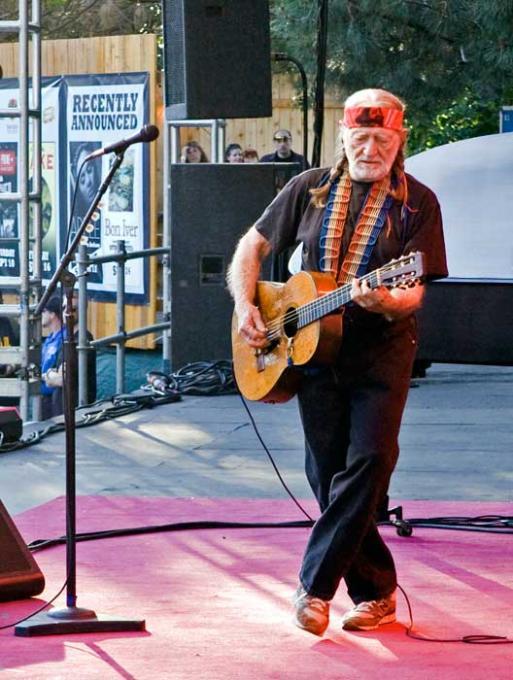 Willie Nelson at Austin360 Amphitheater