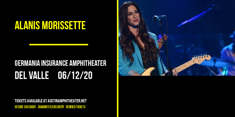 Alanis Morissette at Germania Insurance Amphitheater