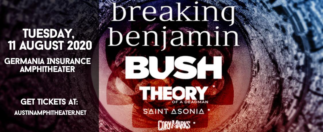 Breaking Benjamin & Bush at Germania Insurance Amphitheater