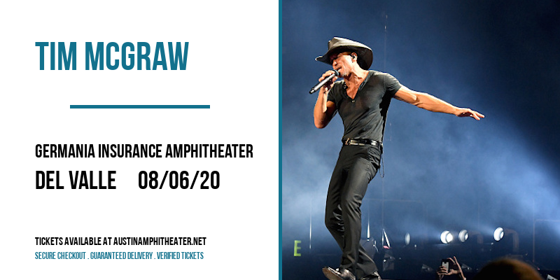 Tim McGraw at Germania Insurance Amphitheater
