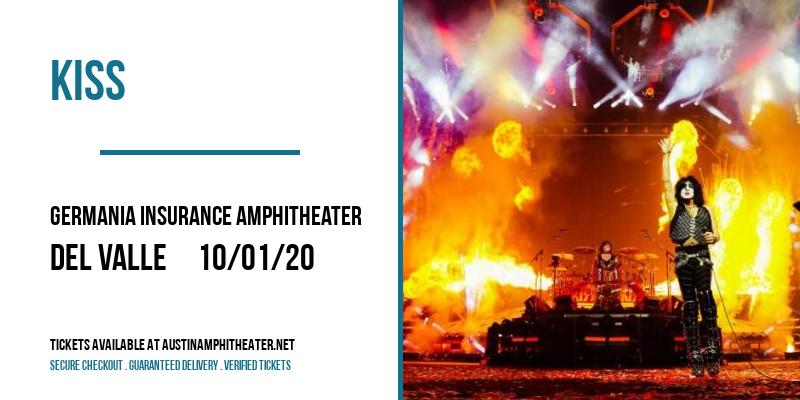 Kiss at Germania Insurance Amphitheater