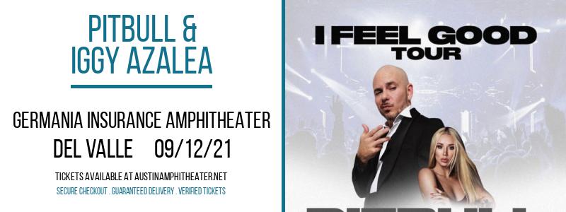 Pitbull & Iggy Azalea at Germania Insurance Amphitheater