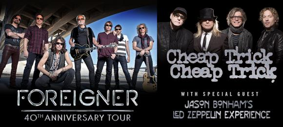 Foreigner, Cheap Trick & Jason Bonham's Led Zeppelin Experience at Austin360 Amphitheater