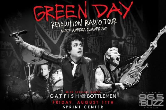 Green Day & Catfish and The Bottlemen at Austin360 Amphitheater