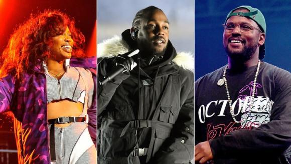 Kendrick Lamar, SZA & Schoolboy Q at Austin360 Amphitheater