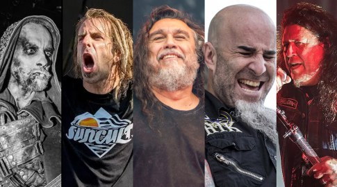 Slayer, Lamb of God, Anthrax. Behemoth & Testament at Austin360 Amphitheater