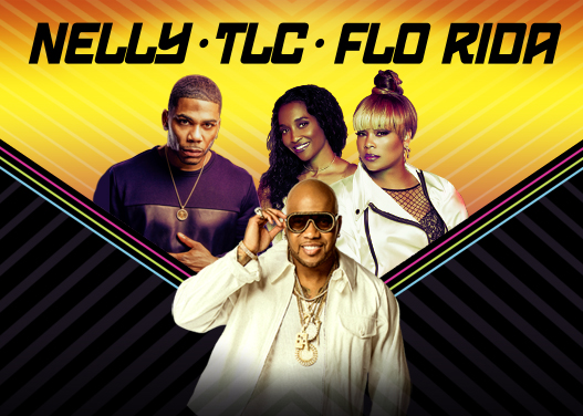 Nelly, TLC & Flo Rida at Austin360 Amphitheater