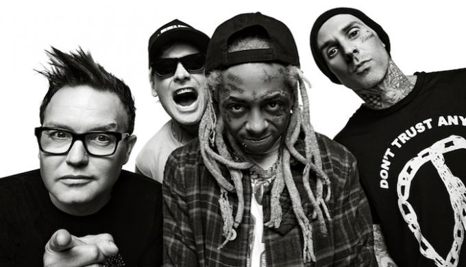 Blink 182 & Lil Wayne at Austin360 Amphitheater