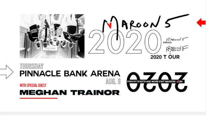 Maroon 5 & Meghan Trainor at Germania Insurance Amphitheater