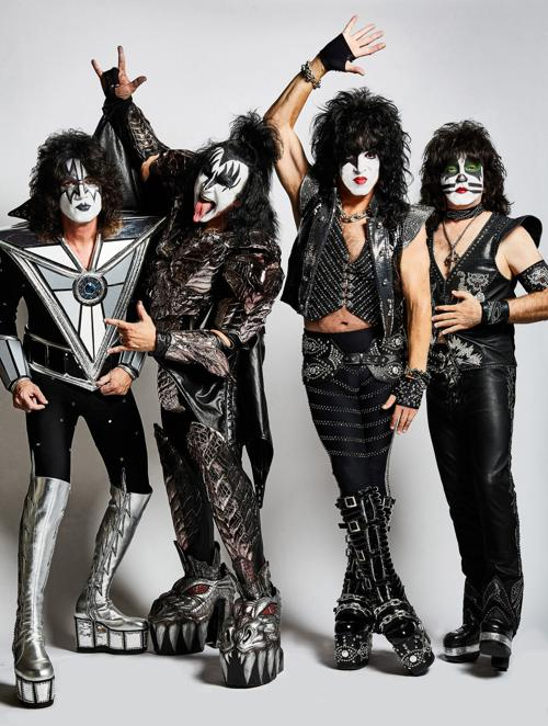Kiss at Germania Insurance Amphitheater