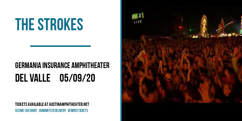 The Strokes [CANCELLED] at Germania Insurance Amphitheater