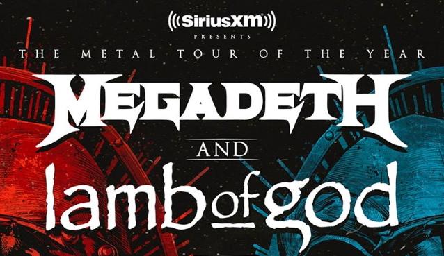 Megadeth & Lamb of God at Germania Insurance Amphitheater